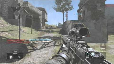 Ps3 Cod AW Multiplayer One Shot No Commentary! Elgato Quality