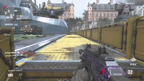 COD AW Multiplayer Gameplay (Parliament-Hardpoint)