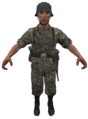 German Waffen-SS 2 model WaW