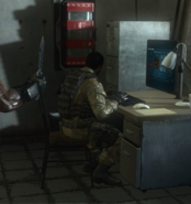 ISI Soldier on Computer BOII