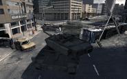 Leopard 2 tanks in Berlin Scorched Earth MW3