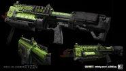 Reaver Machete 3D model concept 2 IW