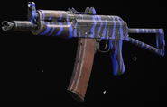 AK-74u Blue Tiger Gunsmith BOCW