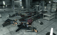 Dead civilians Yuri's flashback MW3