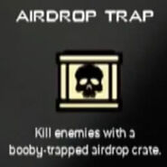 Old killstreak icon Airdrop Trap MW3