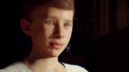 Child Nikolai looks at Sam BO3