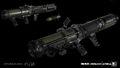Spartan SA3 3D model concept IW