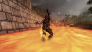 BOII Uprising Magma Burned by Lava