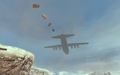 C-130 delivering Emergency Airdrop MW2
