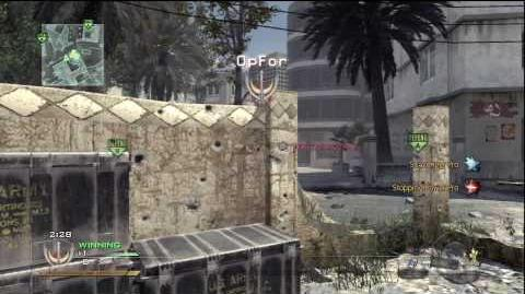 MW2 Demolition on Invasion 50-0 Scar-H Silenced