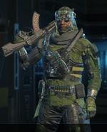 Prophet Jungle outfit BO3