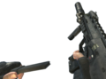 MP7 Silencer Reloading MW3