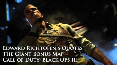 """The Giant - Edward Richtofen's quotes sound files (Black Ops III """"The Giant"""" DLC)"""