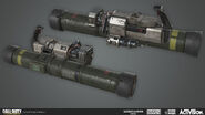 Ripped Rocket Turret Model by Ethan Hiley AW