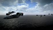 VTOLs flying BOII
