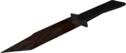Bloody Combat Knife render MW2