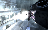 Minigun firing from UH-60 Crew Expendable COD4