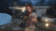 Scarlett Rhodes in-game thirdperson ICR-7 VOD BO4