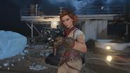 Scarlett Rhodes in-game thirdperson ICR-7 VOD BO4