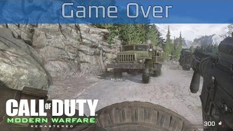 Call of Duty 4 Modern Warfare Remastered - Game Over Walkthrough HD 1080P 60FPS