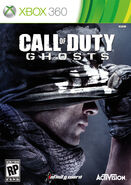 Call of Duty Ghosts Xbox 360 cover art