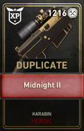 Duplicate Supply Drop Card WWII