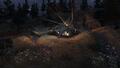 Crashed UH-60 Black Hawk Overwatch MW2