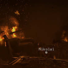 Nikolai's chopper crash site Return to Sender MW3.png