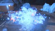 Wraith Fire upon impact BO4