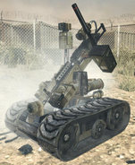 Destroyed Assault Drone MW3