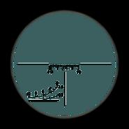 Dragunov scope overlay BO