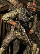 Thomas Merrick taking cover CoDG