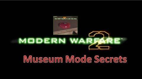 MW2 - Museum Mode Secrets