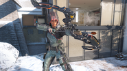 Outrider Sparrow third-person in-game BO3