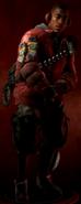 Trigger Character model CoDO