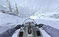 Driving a snowmobile MW2