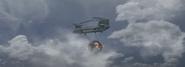 Heli with Forsaken in air Forsaken BOCW