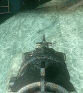 Wave Gun iron sight
