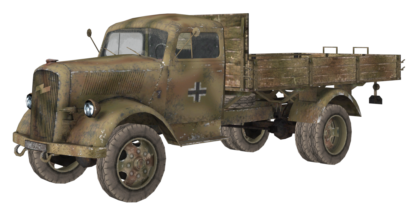 Opel Blitz Call Of Duty Wiki Fandom