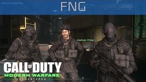Call of Duty 4 Modern Warfare Remastered - FNG Walkthrough HD 1080P 60FPS