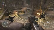 Spingfield gameplay multiplayer CoD3