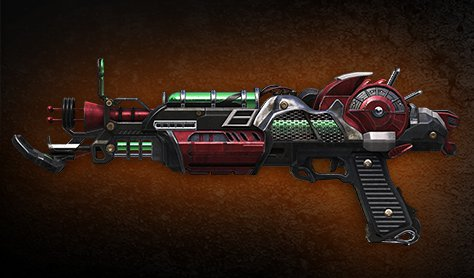 Pistolet-Laser Mark II