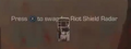 Riot Shield Radar pickup icon CODG