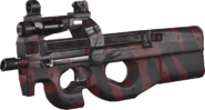 P90 Red Tiger MWR