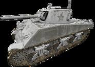 M4 Sherman winter WaW
