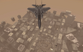 F-15 Eagle flying over Hardhat MW3
