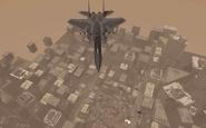 F-15 Eagle flying over Hardhat MW3