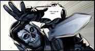 CODM Ghost using Throwing Knife