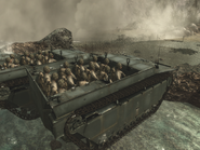 LVT transporting troops WAW