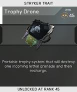 Trophy Drone Unlock Card IW